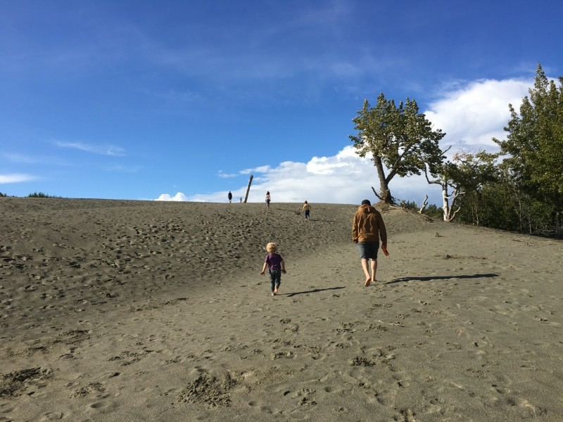 Sand dunes today