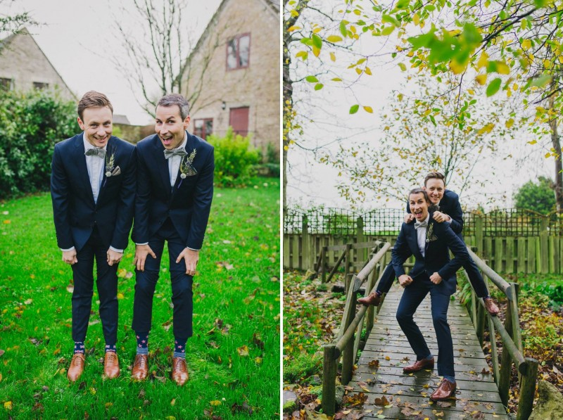 We got married in 2015 in a barn in the English countryside, it was the most incredible day surrounded by our friends and family from the US and UK