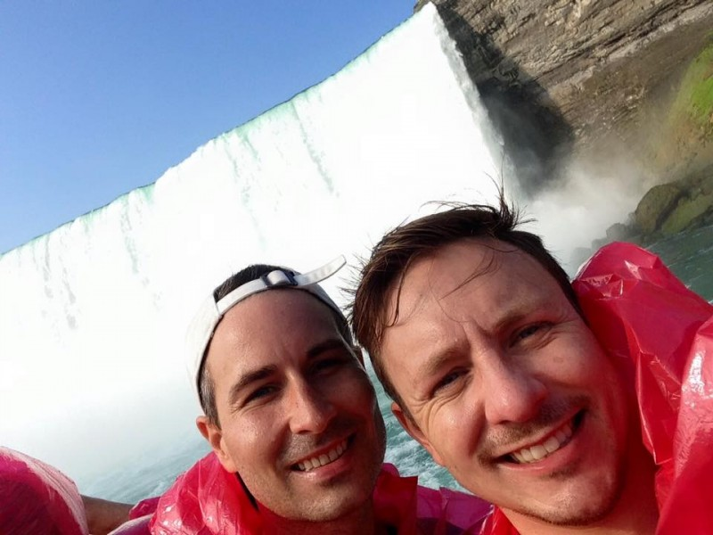 We love exploring, and this is from our trip to the Niagara Falls!