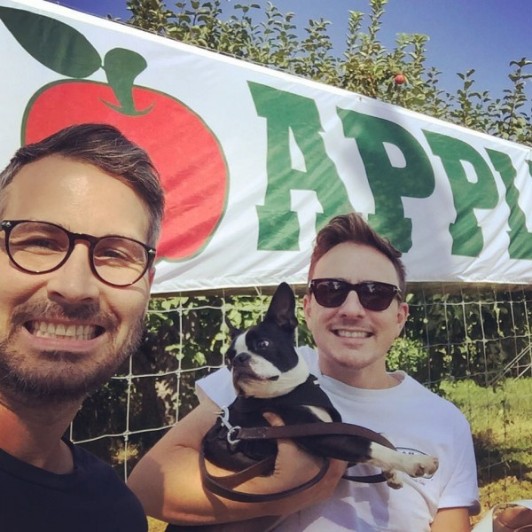 We love Fall fun especially Apple picking, Ross loves making Apple Pie!