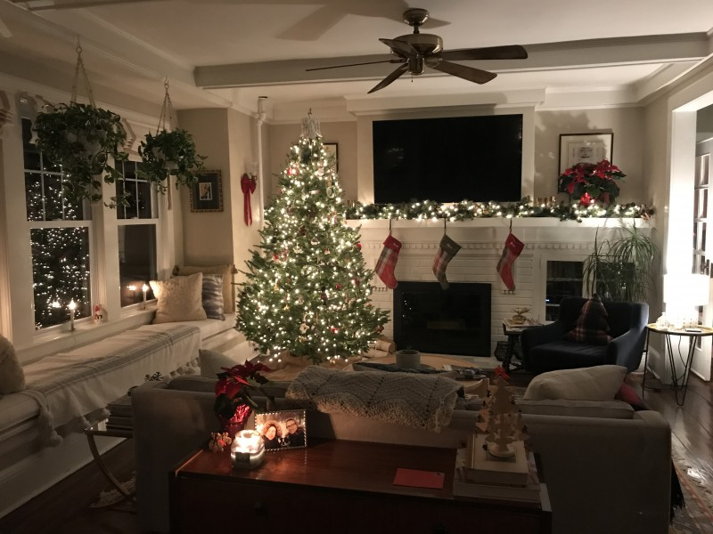 We LOVE Christmas and decorate every part of the house!