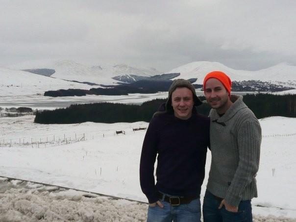 Chilly but beautiful Scotland