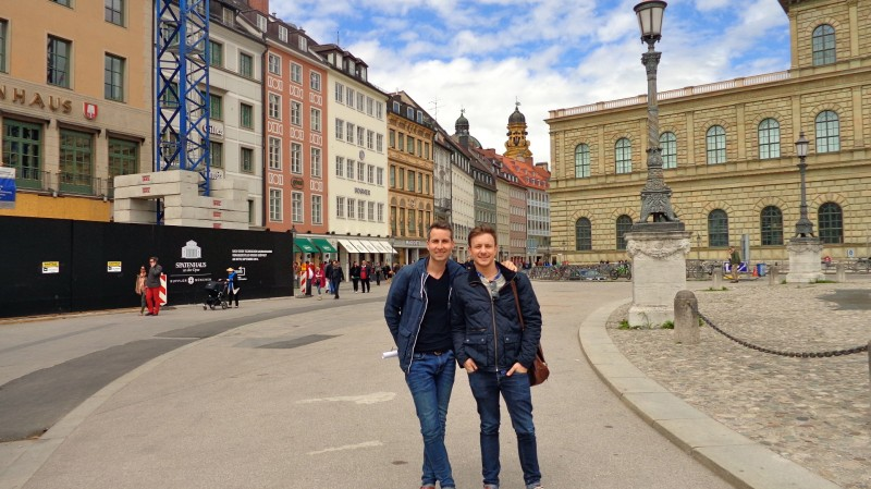Pretzels, Beer, and beautiful architecture in Munich