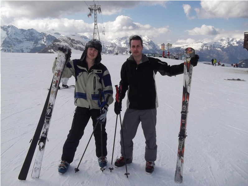 We love Skiing especially in the French Alps