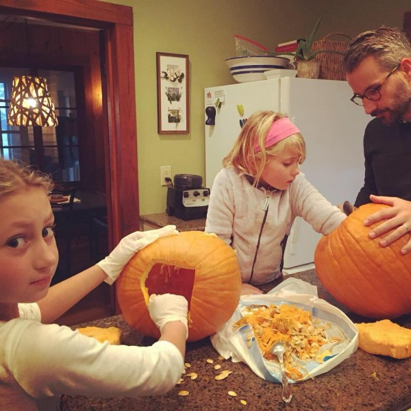 Pumpkin carving every year