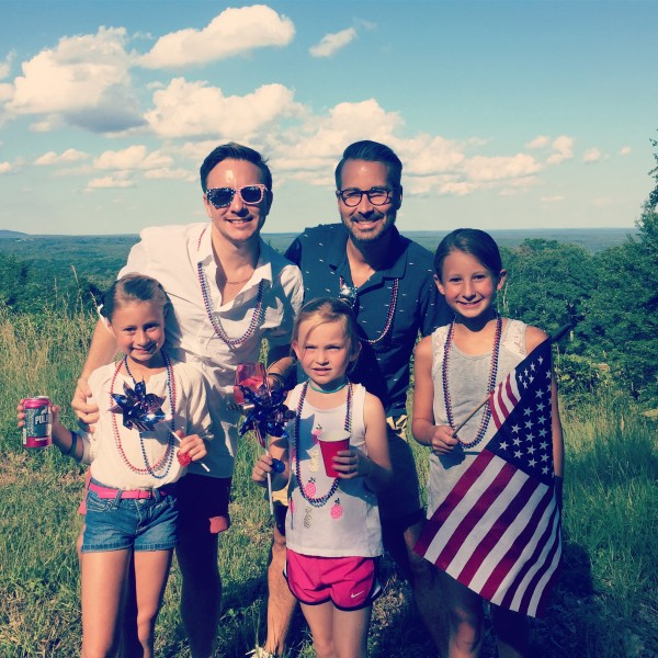 The 4th with our nieces
