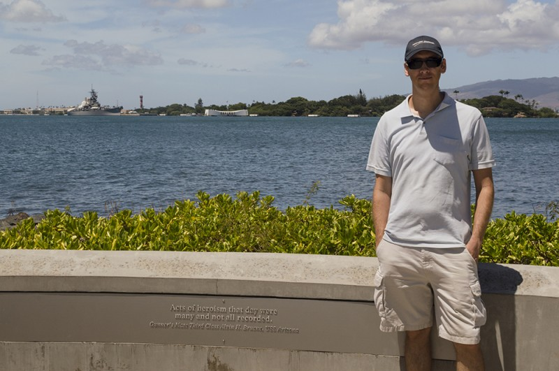 A trip to Oahu would hardly have been complete without visiting Pearl Harbor!