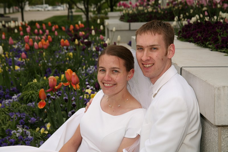 We were married in the Timpanogos Temple (of The Church of Jesus Christ of Latter-day Saints) in 2007
