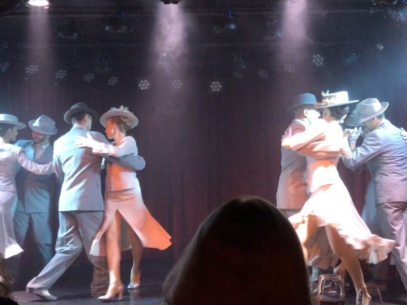 Tango and dancing is another must in our family