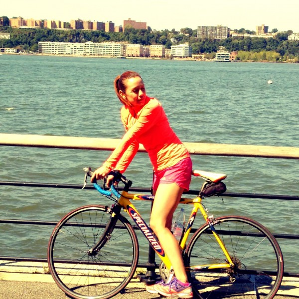 We love to take our bikes out and bike around the city