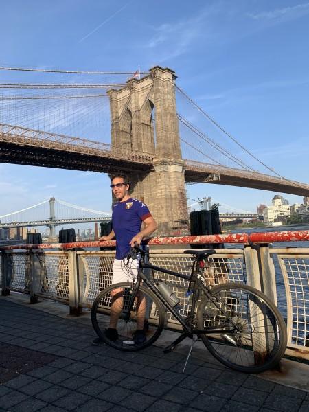 By the Brooklynns Bridge