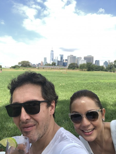 We biked to Governors Island off the coast of Manhattan and had a picnic