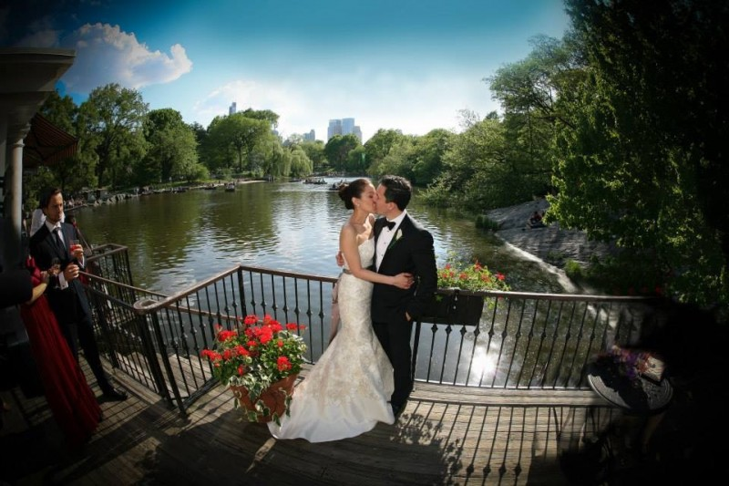 We had our wedding reception at the romantic Boathouse in Central Park. It was a beautiful day where friends and family from here and abroad came to celebrate this special day