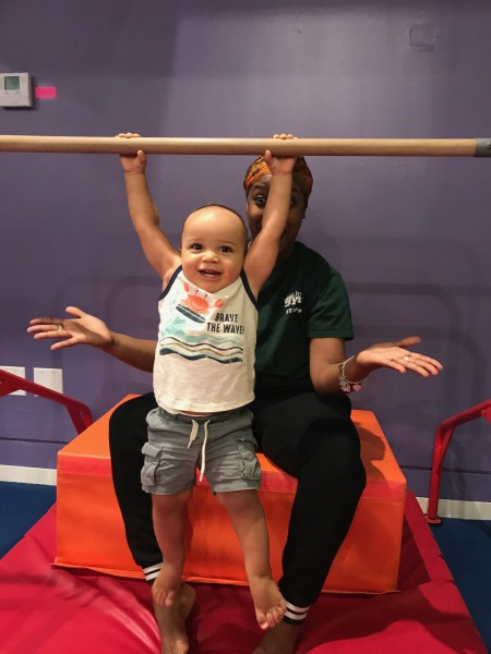 Loves to climb!