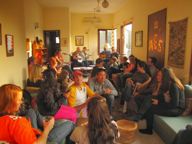 Living room everyone
