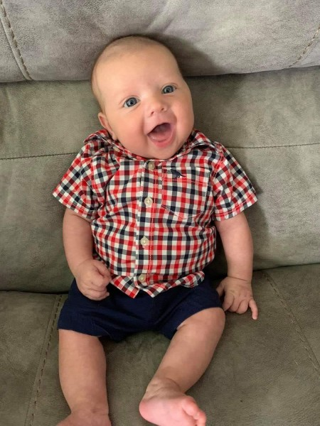 This summer we welcomed a new nephew to our family!  Chase is Liz's sister and brother in law's son!