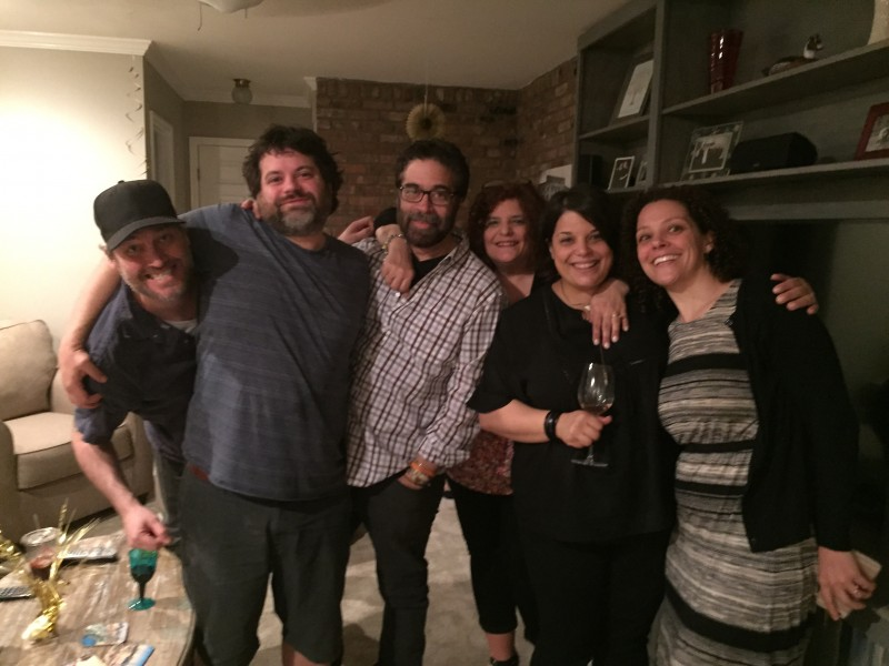Jess' family.