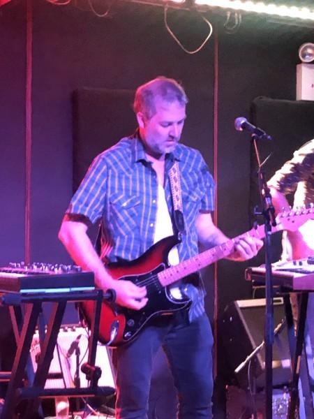 Chris at a recent gig.