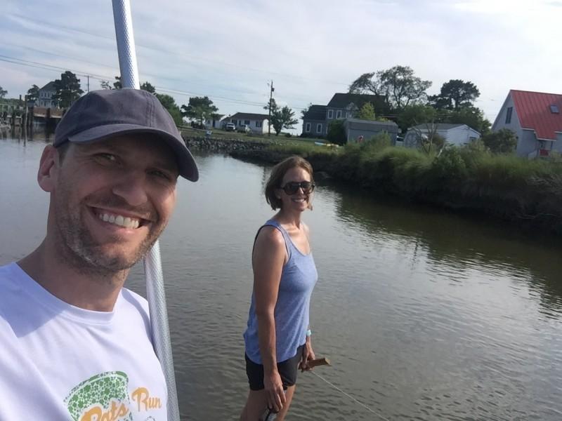 Crabbing! - maryland 2017