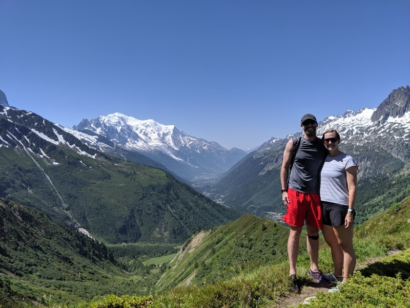 Hiking in the alps - france 2019