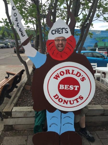 Aaron donuts