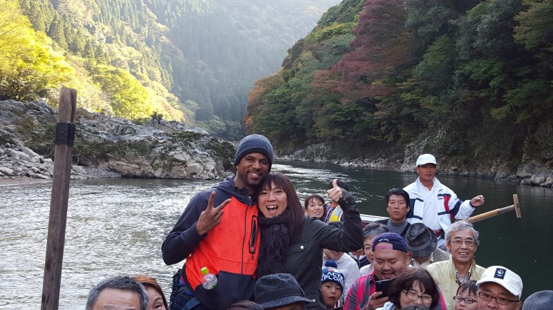 Over 400 years tradition of going down the Hozu river in Kyoto