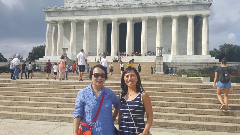 Visiting DC with Mom