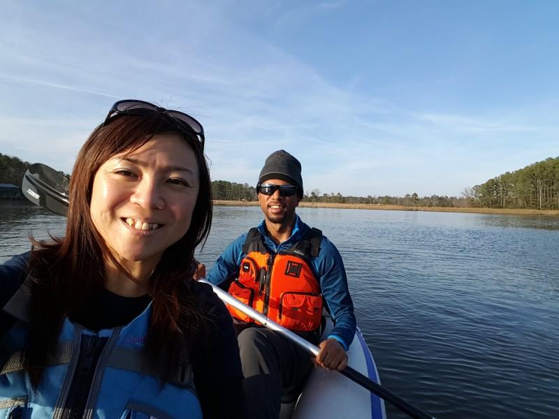 RAyano kayaking