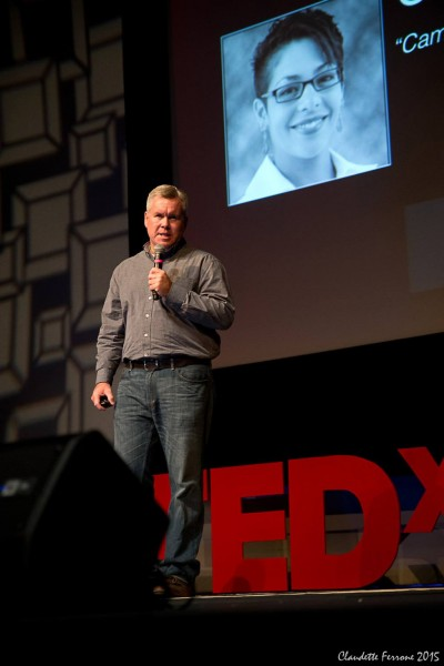 John was an organizer for a local TEDx event