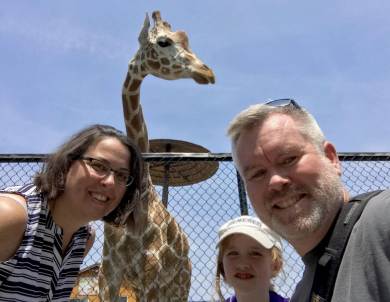 The Wild day trip with John's niece Teagan
