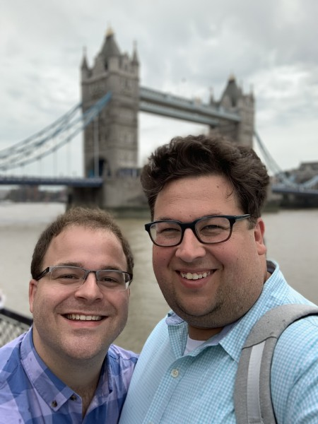 Photo in front of Tower Bridge