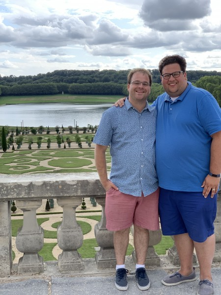 Visiting the Gardens at Versailles