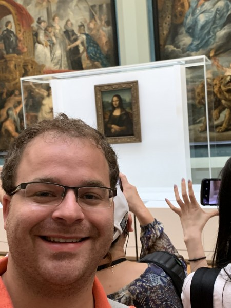 Visiting the Mona Lisa
