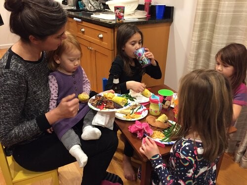 Cooking and eating together is a huge part of our lives and something we love to share with our family.