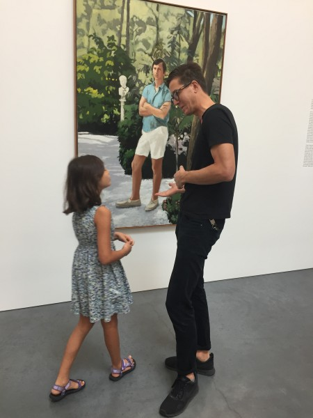 When we're not at the beach, we're usually at a gallery. We love to share this passion with our nieces and nephews.