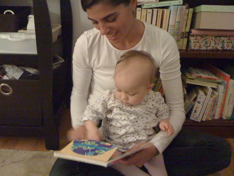 Aeriel loves to read! She's always the first one to grab a book and read out loud to her nieces and nephews.