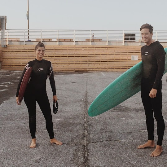 Surfing in New York City? Yep! Here we are in Queens on an early summer day.