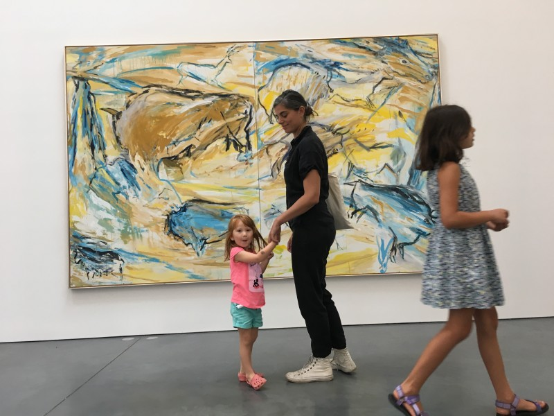 We're also both art lovers! We love teaching our many nieces and nephews about the art world.