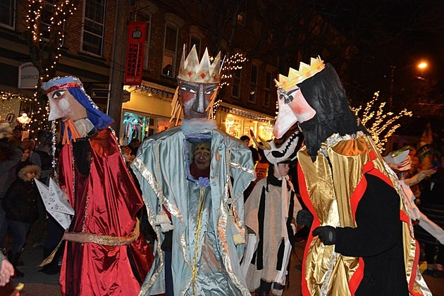 Sinterklass is a parade for Christmas that celebrates the Dutch coming of Santa