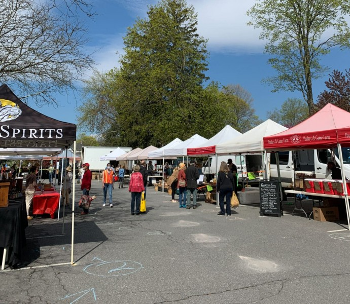 We have a great farmers market every Sunday