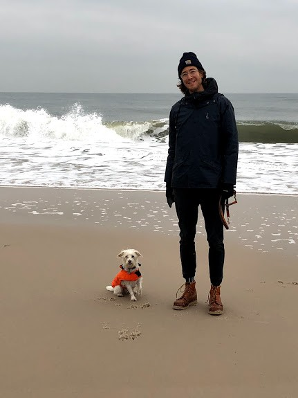 These two on long beach walk!