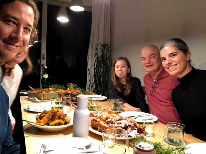 Thanksgiving was a small affair this year, but we're so grateful for loved ones we DID get to see! <3
