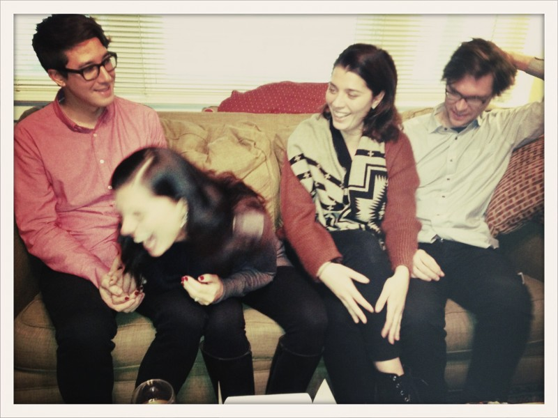 Whenever Aeriel and her sister and brother are together, there's always a lot of laughter.