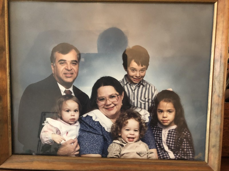 Jeremy's Family back in 1991