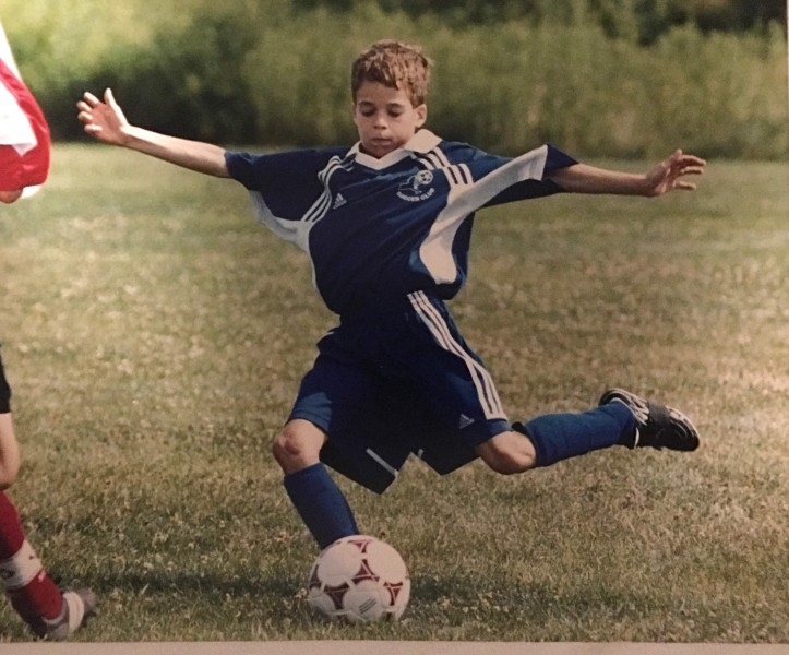 Jeremy played travel soccer growing up