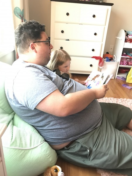 Story time with Uncle Kyle