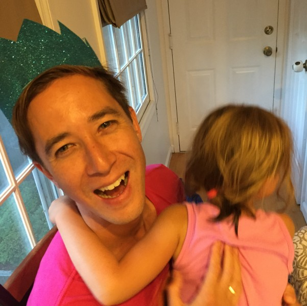 David loves sharing birthdays with our nieces and hephews!