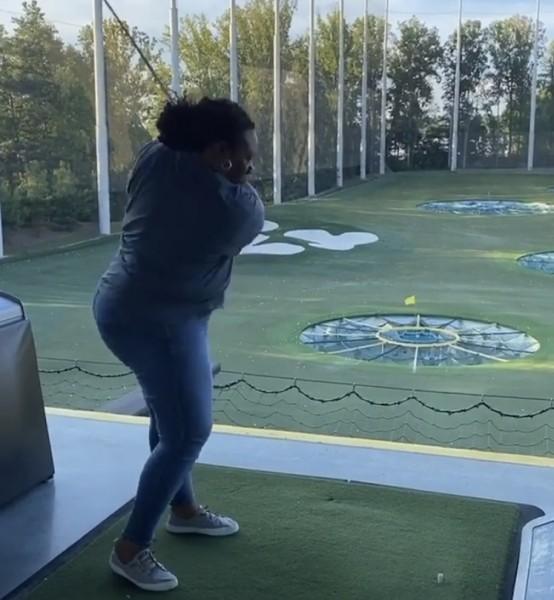 Golfing at Top Golf