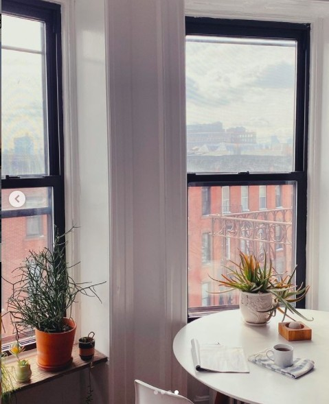 Our Brooklyn dining nook!