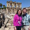 In Ephesus, Turkey